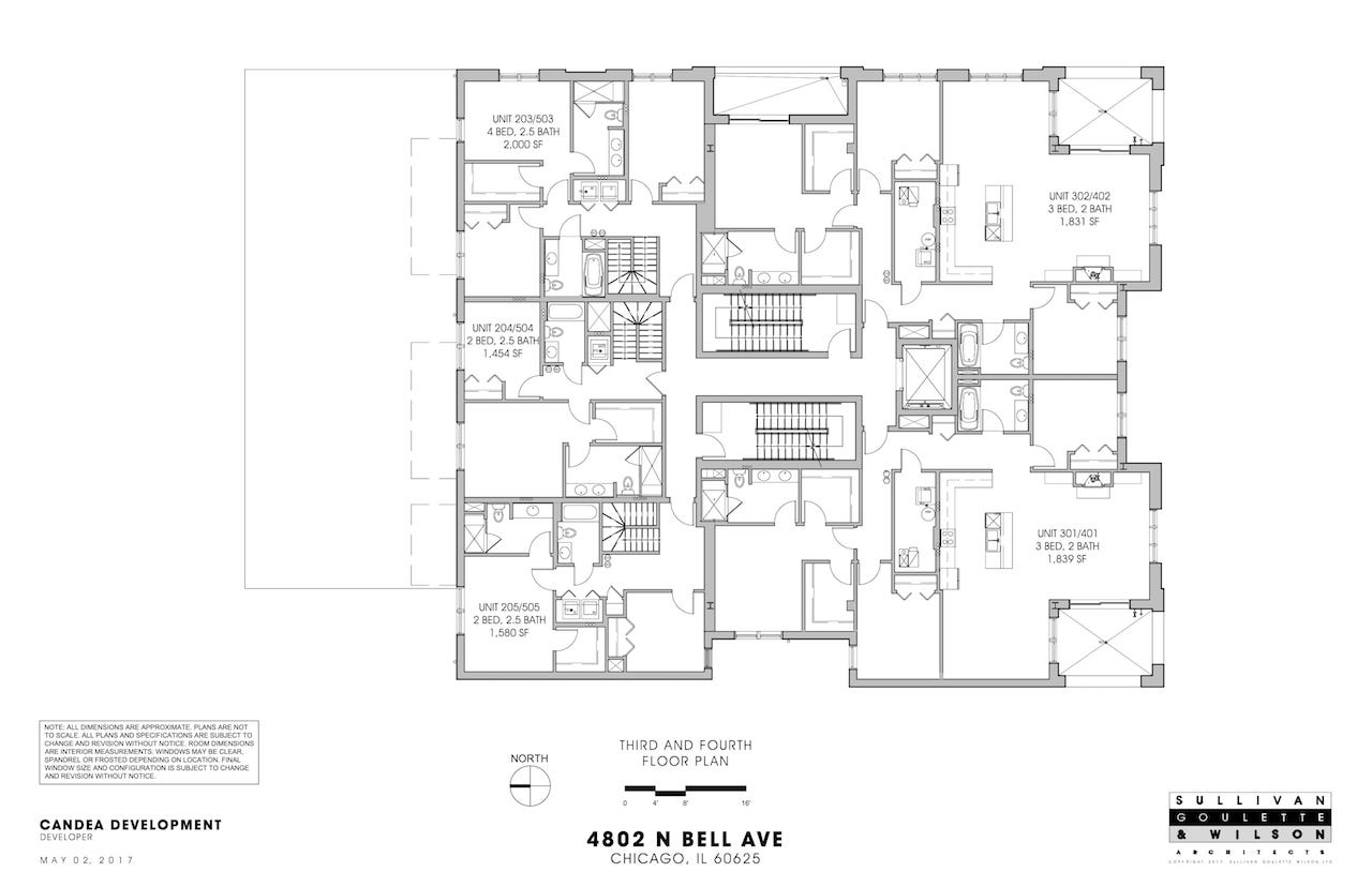 Bell 4802 N_3rd & 4th Floor Plan-1