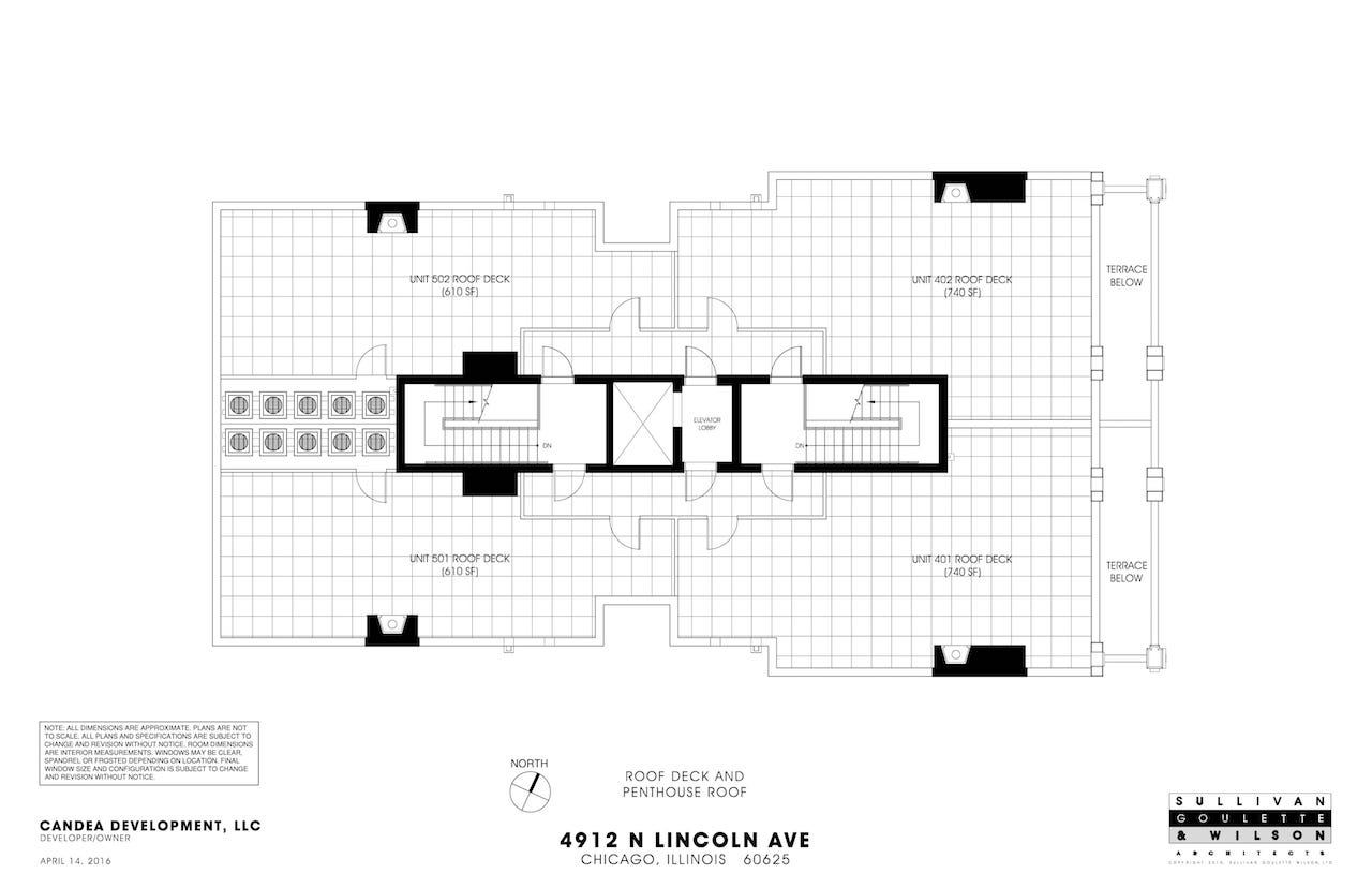 Lincoln4912N_Roof Deck and Penthouse Plan-1